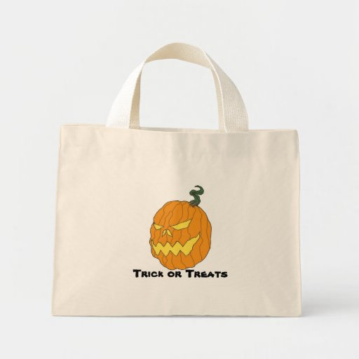 Trick Or Treats Halloween Tote Bag