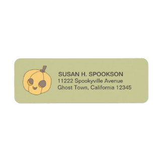 Trick Treat Boo Halloween Return Address Labels