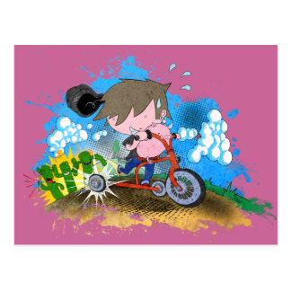 Tricycle Post Card