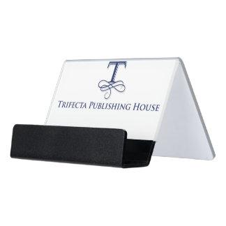 Trifecta Publishing House Card Holder Desk Business Card Holder