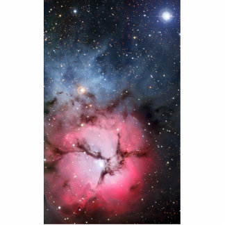 Trifid Nebula Space Astronomy Standing Photo Sculpture