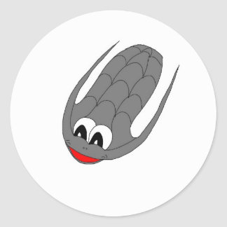 Trilobite Classic Round Sticker