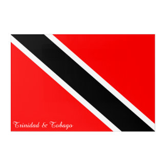 Trinidad and Tobago Flag Acrylic Print