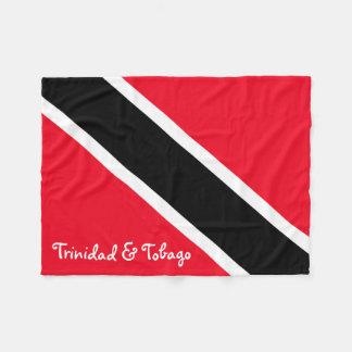 Trinidad and Tobago Fleece Blanket