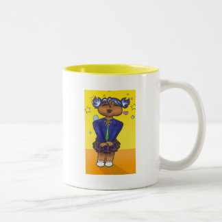 Trinity Anime Art Gallery Character Two-Tone Coffee Mug