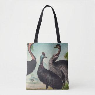 Trio of Ostriches Tote Bag