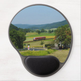 Trip by the upper Lahn valley with nuclear brook Gel Mouse Pad