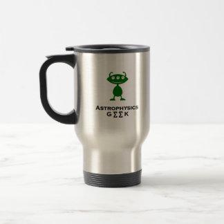 Triple Eye Astrophysics Geek green 15 Oz Stainless Steel Travel Mug