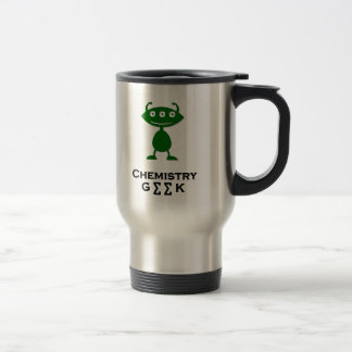 Triple Eye Chemistry Geek green Coffee Mugs