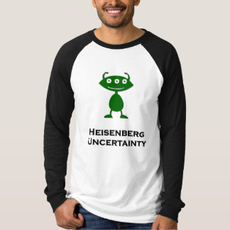 Triple Eye Heisenberg Uncertainty green T-Shirt