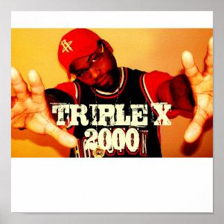 Triple X 2000 002 TRIPLE X 2000 Poster