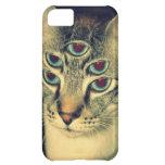 Trippy Cat Case For iPhone 5C
