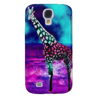 Trippy Giraffe Galaxy S4 Case