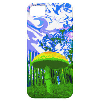 Trippy Mushroom iPhone 5 Case (Bright)