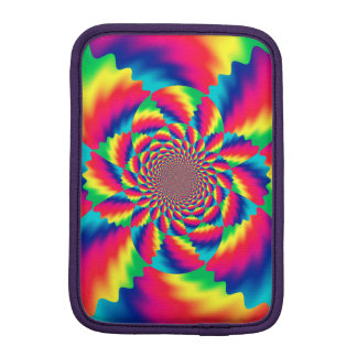 Trippy Psychedelic Fractal Pattern iPad Mini Case