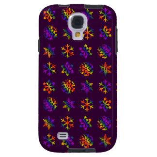 Trippy Snowflakes Galaxy S4 Case