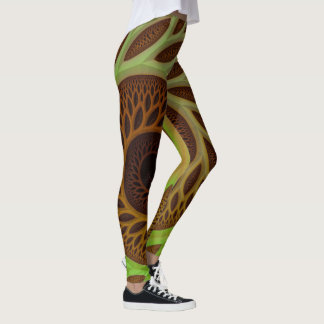 Trippy Tree of Life Psychedelic Leggings