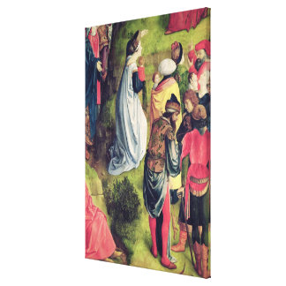 Triptych of the Crucifixion Canvas Print
