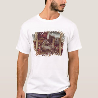Triptych of the Temptation of St. Anthony T-Shirt