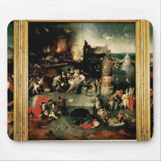 Triptych: The Temptation of St. Anthony Mouse Pad