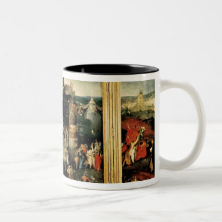Triptych: The Temptation of St. Anthony Coffee Mugs