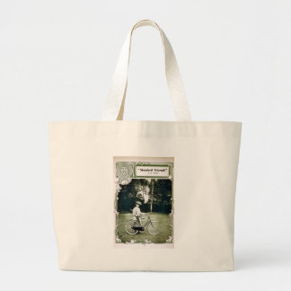 Triumph Cycles 1907 Lady's Standard No. 24 Large Tote Bag