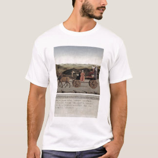 Triumph of Battista Sforza, Duchess of Urbino. Bat T-Shirt