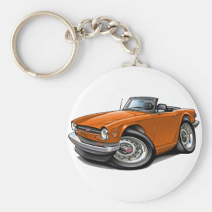 Triumph Car Key Rings Keychains Zazzle Nz
