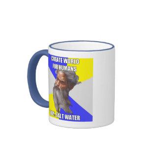 Troll God Saltwater Ringer Mug