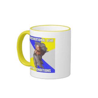 Troll God Unconditional Love Ringer Mug