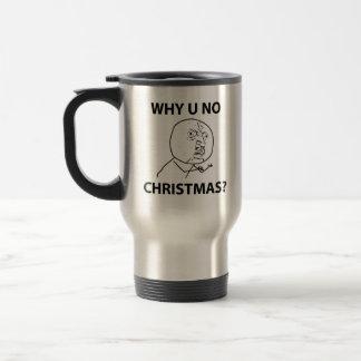 Troll LeMe Memes troll WHY YOU NO CHRISTMAS Travel Mug