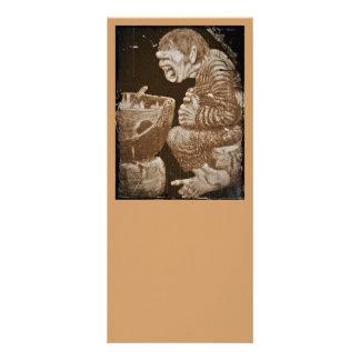Troll with Giant Cauldron Rack Card
