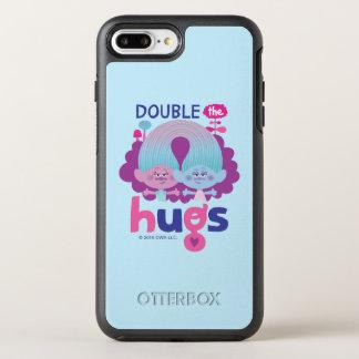 Trolls | Satin & Chenille - Double the Hugs OtterBox Symmetry iPhone 8 Plus/7 Plus Case