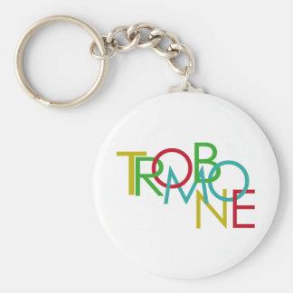 Trombone Key Ring