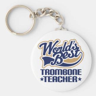 Trombone Teacher Gift Key Ring