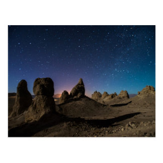 Trona and the Milky Way Postcard