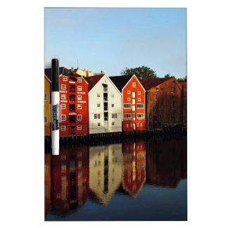 Trondheim in Norway Dry Erase Board