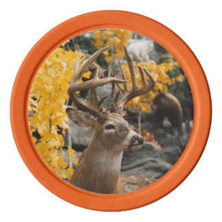 Trophy Deer Poker Chips