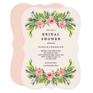 Tropical Bridal Shower Invitation
