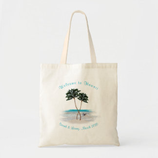 Tropical Bridesmaid Personalised Gift Bag