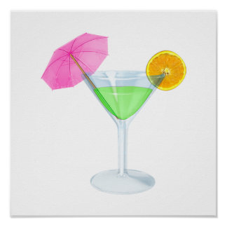 Tropical Cocktail - SRF Poster