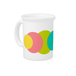 Tropical Dots Pitcher
