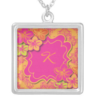 Tropical Dreams Silver Plated Necklace