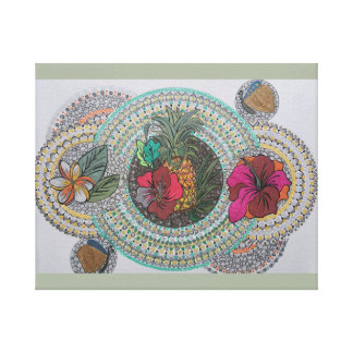 Tropical feast canvas canvas print