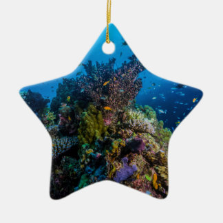 Tropical Fish Great Barrier Reef Coral Sea Christmas Ornament