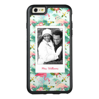 Tropical Flowers And Birds | Add Your Photo & Name OtterBox iPhone 6/6s Plus Case