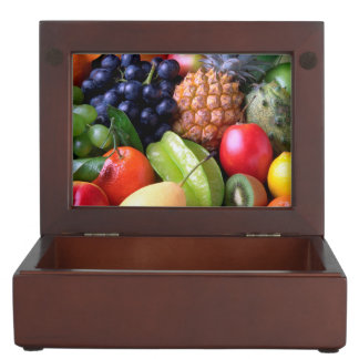 Tropical Fruit Keepsake Box