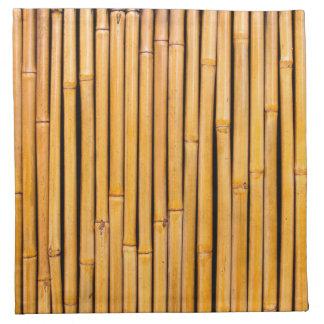 Tropical Hawaiian Bamboo Background Template Napkins
