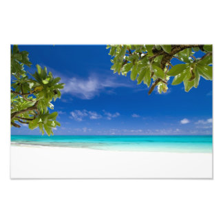 Tropical island beach and Okinawa Japan Photo