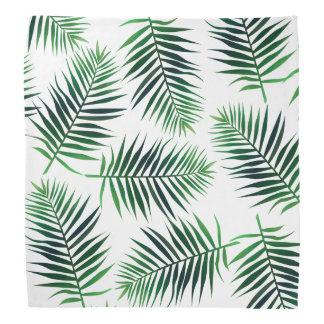 Tropical Island Palm Leaves Bandana